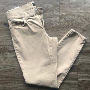 Banana Republic Tan Skinny Pant size 2